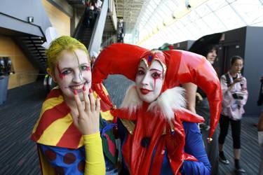 My two favorite jester by rocknroler