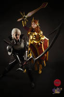 Diana and Leona by rocknroler