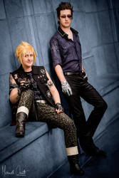 Prompto and Ignis by rocknroler