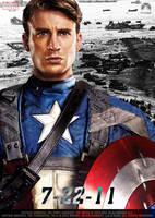 Chris Evans Captain America 1 by Alex4everdn
