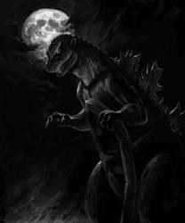 Godzilla 1954 by SoihtuSS