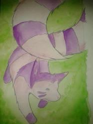 162. Furret (Shiny) by Haileyjo13