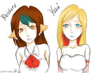Reicheru and Yuki by ViviLocke