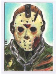 Card 59 Jason Voorhees by turtlespopart