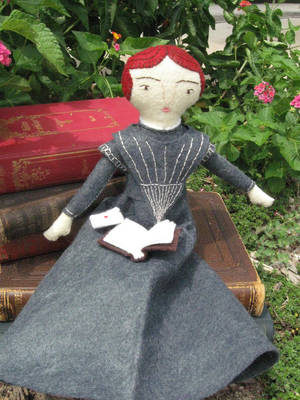 Emily Dickinson Doll again by Charis