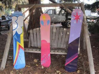 My Pony Snowboards by idontrunntoofast