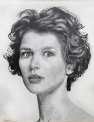 Julia - Pencil by kcelsi