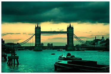 Tower Bridge by BloodAddict