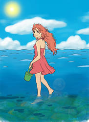 Request: Adult Ponyo by lori286787