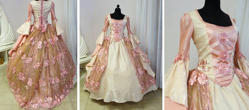 Original Pink Princess Gown by glimmerwood