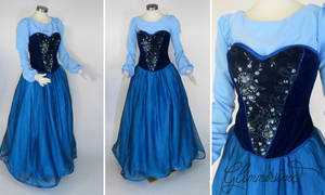 Little Mermaid Town Dress Cosplay by glimmerwood