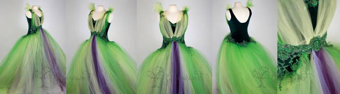 Artichoke Dress by glimmerwood