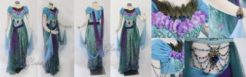 Designer Jasmine Costume Cosplay gown by glimmerwood