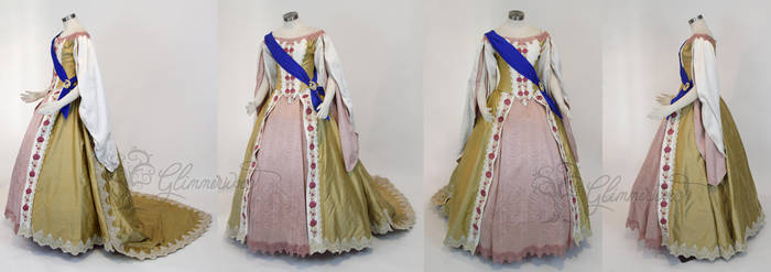 Grand Duchess Anastasia Cosplay Gown Dress Costume by glimmerwood
