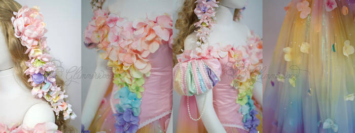 Rainbow Fairy Details by glimmerwood