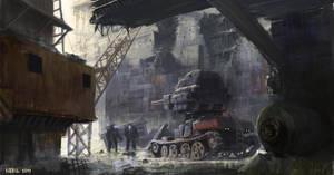 tank destroyer by 5ofnovember