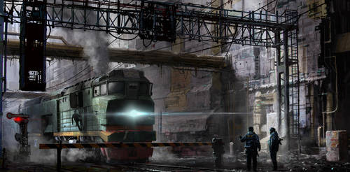 the last station by 5ofnovember