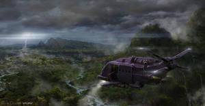 jungle storm by 5ofnovember