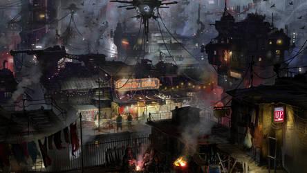 The Hunters AD 2114 - Market by 5ofnovember