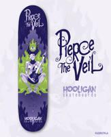 Pierce the Veil Skateboard Design by Nemons
