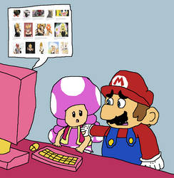 193. Aww, Don't Listen to Them, Toadette! by Madbird82