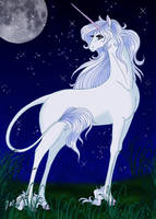 The Last Unicorn by AlbaAragon