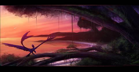 Awakening - Speed Paint by Skysealer