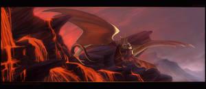Watcher of Burning Worlds by Skysealer