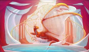 Queen of Harps by Skysealer