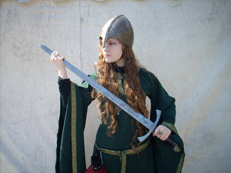 Medieval Green Stock V by DanielleFiore