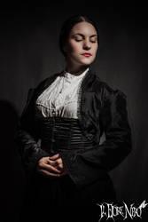 Victorian-gothic Bolero 'Mina' by DanielleFiore