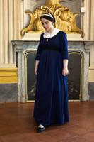Blue Regency dress by DanielleFiore