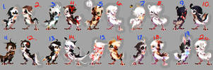 FIRST EYRIE PUPS BATCH! [ CLOSED ] by Dragonpunk15