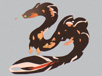 Leggy Koiful Eel [CLOSED] by Dragonpunk15