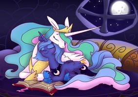 Celestia and Luna by Equestria-Prevails