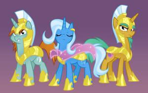 Captain Trixie by Equestria-Prevails