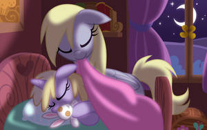 Dinky Bedtime by Equestria-Prevails