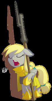 Goldencloak Sentry by Equestria-Prevails