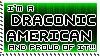 Draconic American Stamp by eklipse13
