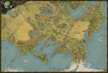 Das Emperyale Lvramion und umliegende Lander by MetzgerWilli