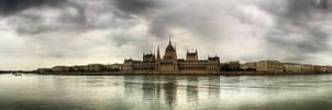 Budapest panorama - Danube by hans64-kjz