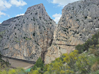 Caminito del Rey - exit view by hans64-kjz