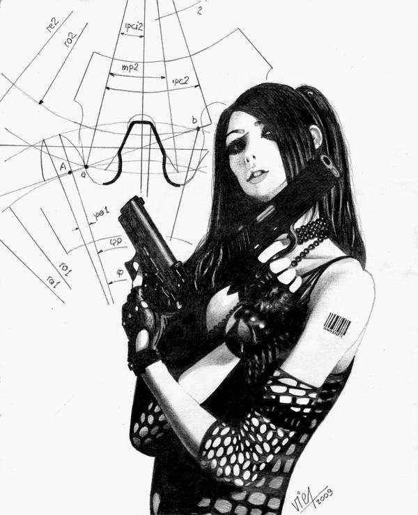 Gun Girls by viernob