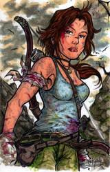 Lara Croft Tomb Raider Colo by Djiguito