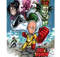 One Punchman vs Villains by Djiguito