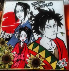 Shikishi SAMURAI CHAMPLOO by Djiguito