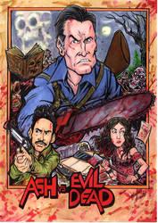 ASH VS EVIL DEAD by Djiguito