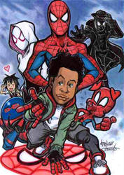 into the Spiderverse by Djiguito