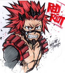 RED RIOT / KIRISHIMA by Djiguito