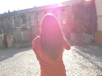 sun by OvcaBee